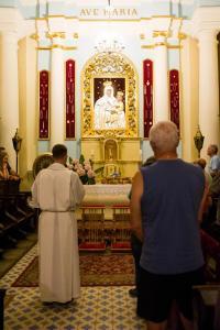 Apel Jasnogorski w kaplicy Matki Bozej