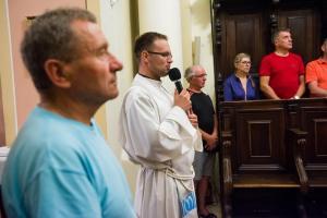 Wspolna modlitwa w kaplicy