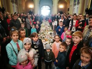 Wielkanoc 2019 - Jedlińsk święcenie pokarmów