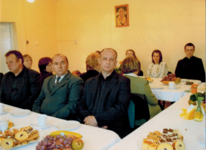 Grupa założycielska Prafialnego Zespołu Caritas
